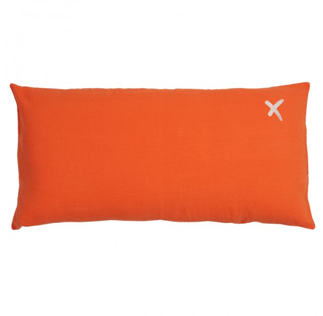 Coussin XL rectangulaire Lovers terracotta
