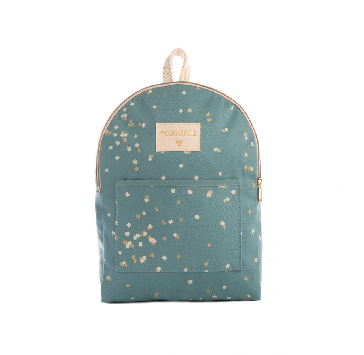 Mini sac à dos Too Cool Gold Confetti - Vert celadon