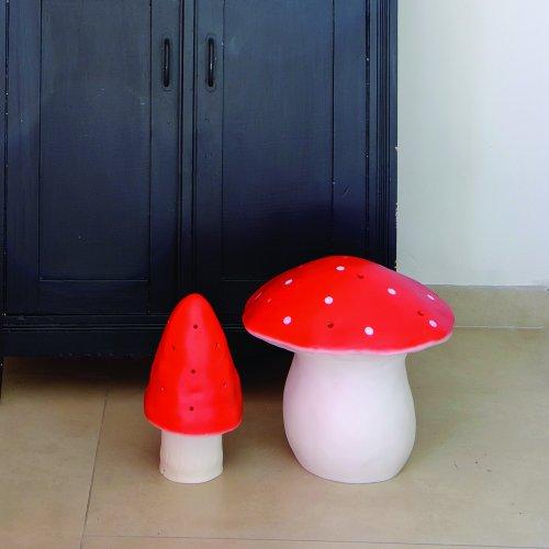 veilleuse petite lampe champignon rouge egmont toys pour chambre enfant les enfants du design. Black Bedroom Furniture Sets. Home Design Ideas