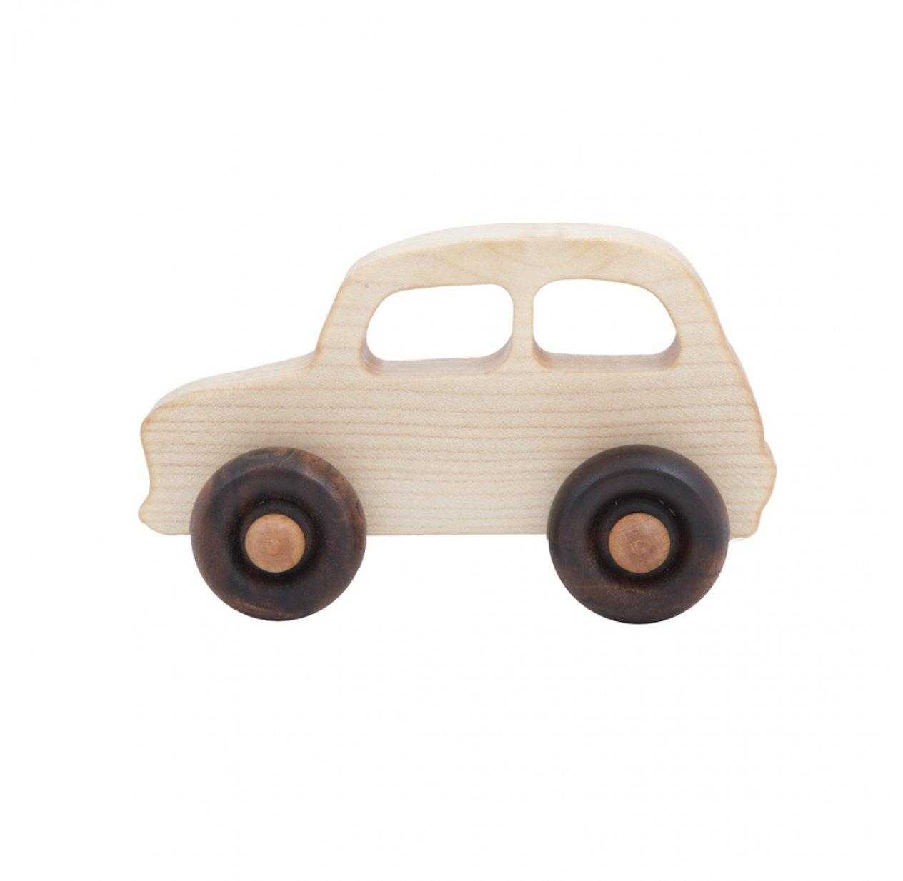 petite voiture fran aise naturel wooden story pour chambre enfant les enfants du design. Black Bedroom Furniture Sets. Home Design Ideas