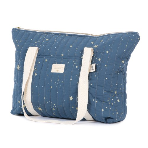 Sac de maternité Paris gold stella Elements - Bleu marine