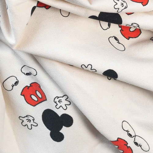 Sac - Tapis de jeux Mickey cool Disney - Ecru/Rouge