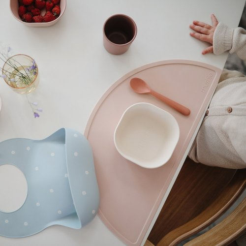 Set de Table en Silicone - Rose poudré