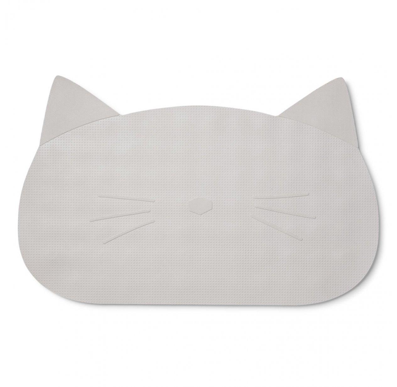 tapis de bain chat gris l phant liewood pour chambre enfant les enfants du design. Black Bedroom Furniture Sets. Home Design Ideas