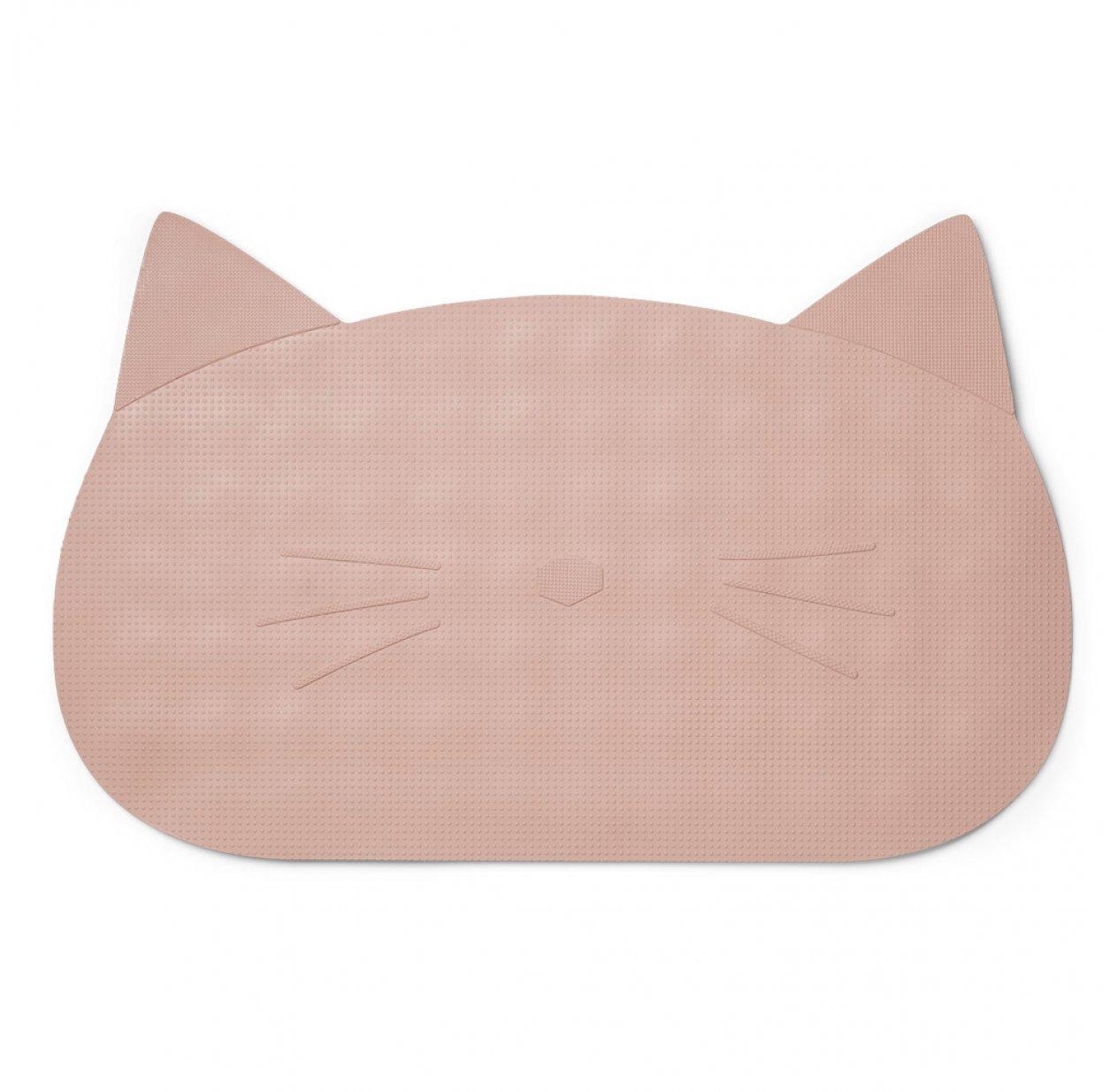 tapis de bain chat rose pastel liewood pour chambre enfant les enfants du design. Black Bedroom Furniture Sets. Home Design Ideas