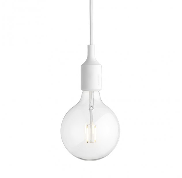 Suspension E27 LED - Blanc