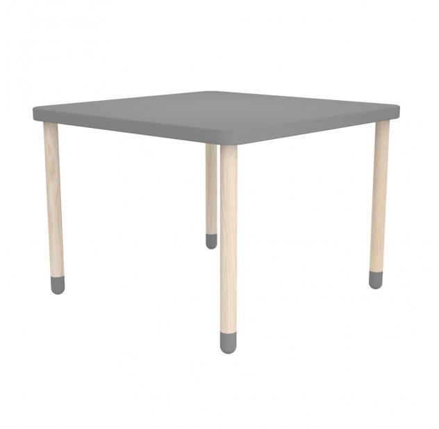 table de jeux gris flexa play pour chambre enfant les enfants du design. Black Bedroom Furniture Sets. Home Design Ideas