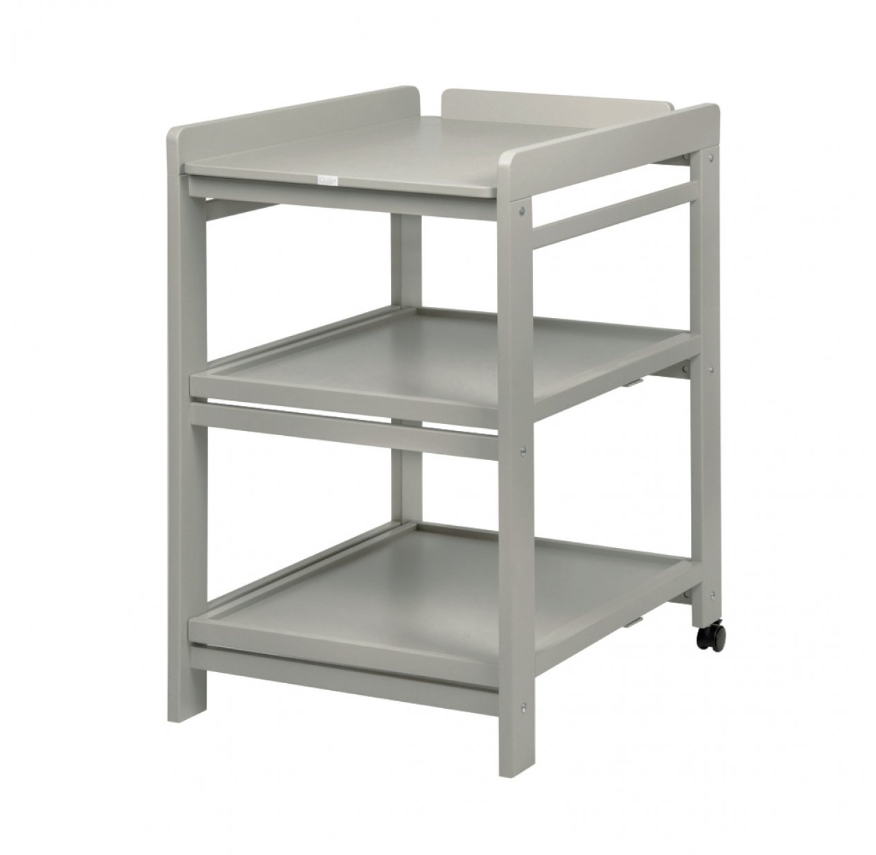 table langer comfort avec roues grisato quax pour chambre enfant les enfants du design