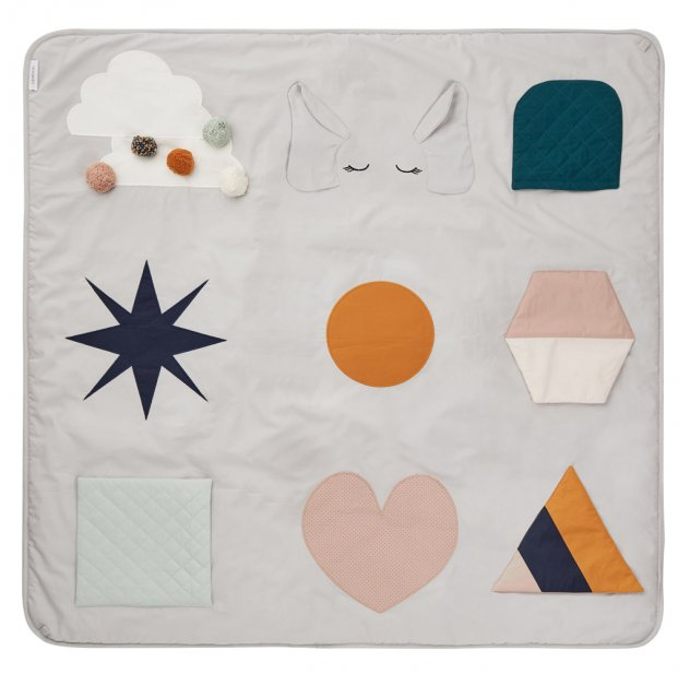 Tapis d\'éveil Maude - Multicolore Liewood pour chambre enfant - Les ...