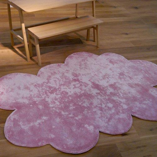 tapis nuage poils courts mauve gris pilepoil pour chambre enfant les enfants du design. Black Bedroom Furniture Sets. Home Design Ideas