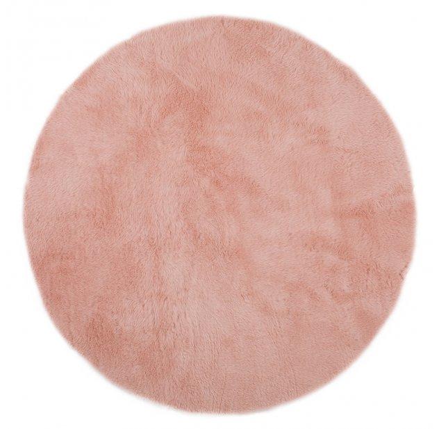 tapis rond rose poudr pilepoil pour chambre enfant les enfants du design - Tapis Rose Poudre