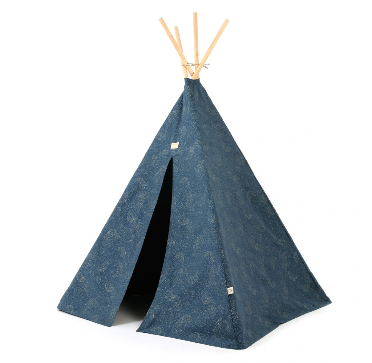 Tipi enfant Phoenix bubble Elements - Bleu marine
