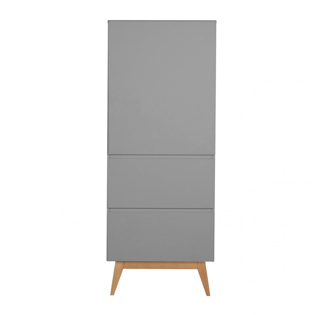 Armoire 1 porte Trendy - Griffin grey