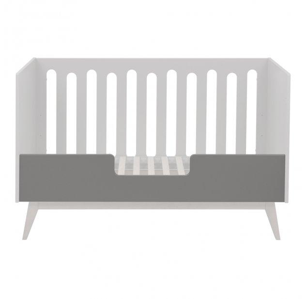 Barriere Pour Lit Bebe Canape Trendy 70 X 140 Griffin Grey Quax