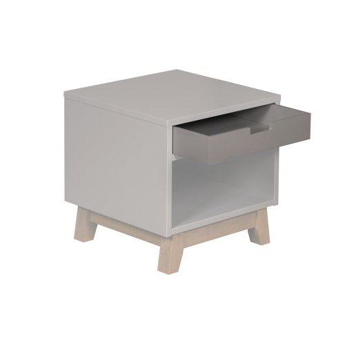 Table De Nuit Trendy Griffin Grey Quax Pour Chambre Enfant Les