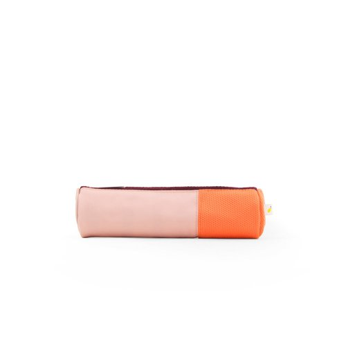 Trousse Verticale - Rose/Orange