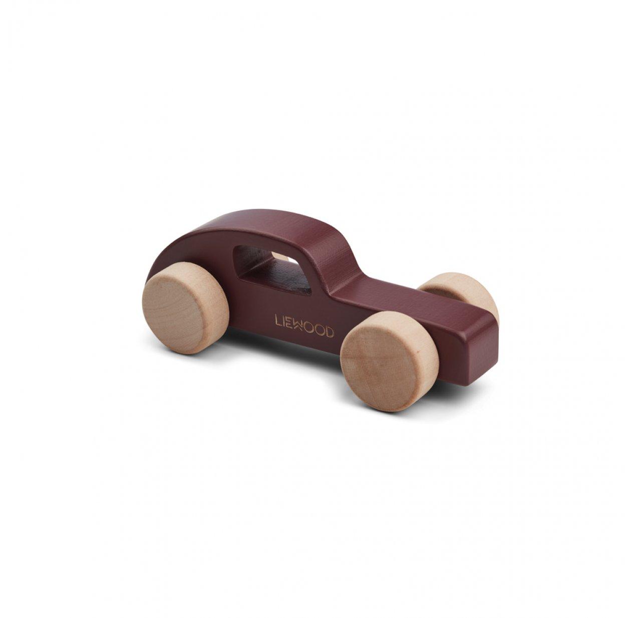 jouet en bois voiture elena bordeaux liewood pour. Black Bedroom Furniture Sets. Home Design Ideas