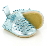 Chaussons Blublu Ecaille - Turquoise