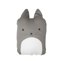 Coussin Cuddly Cat - Taupe