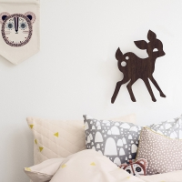 Lampe applique Faon - Rose