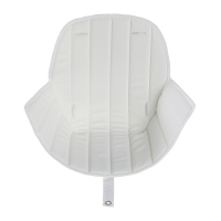 Coussin d'assise Ovo - Blanc