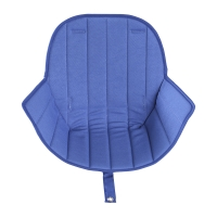 Coussin d'assise Ovo Luxe - Bleu