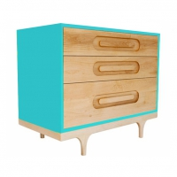 Commode Caravan - Turquoise