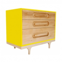Commode Caravan - Jaune