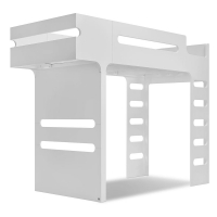 Lit mezzanine F Bunk Bed - White