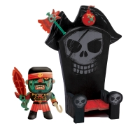 Pirate Kyle & Ze Throne - Arty Toys