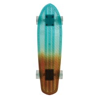 Skateboard Bantam Light blue/Amber Fade