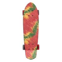 Skateboard Graphic Bantam Rasta Fire