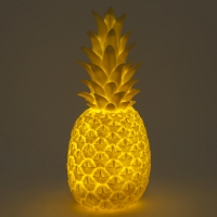 Lampe veilleuse Ananas rechargeable - Jaune