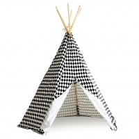 Tipi Arizona Losanges - Noir