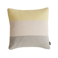 Coussin Pearl - Jaune/Rose