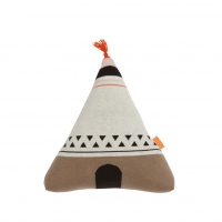 Coussin Tipi Wigwam neon