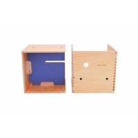 Max in the Box - Bureau enfant cube - Bleu