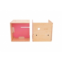 Max in the Box - Bureau enfant cube - Rose