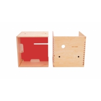 Max in the Box - Bureau enfant cube - Rouge