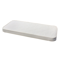Matelas angles arrondis Mini+ Wood 68x162x12