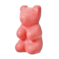 Veilleuse lampe Ours Jelly - Rose pêche