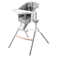 Assise chaise haute Up&Down - Gris