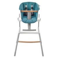 Assise chaise haute Up&Down - Bleu