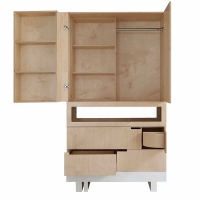 Armoire The Roof - Bouleau