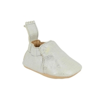 Chaussons Blumoo Print - Blanc/Filament argent