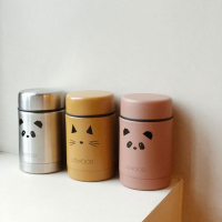 Thermos Alimentaire Nadja Chat - Vieux rose