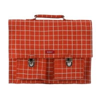 Cartable Kotak Red - Orange