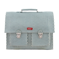 Cartable Books - Bleu gris