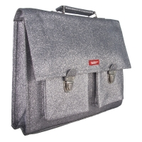 Cartable Glitter Grey - Gris