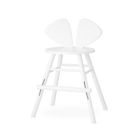 Chaise junior Mouse 3-9 ans - Blanc